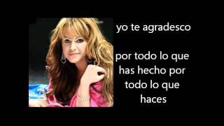 Jenni Rivera - Yo Te Agradesco Letra Lyrics