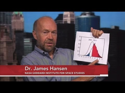 James Hansen: Extreme Heat Events Connected to Climate Change