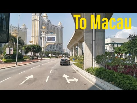 Street view along the way to Macau. Road Trip 2020! 駕車旅行/自駕游到澳門