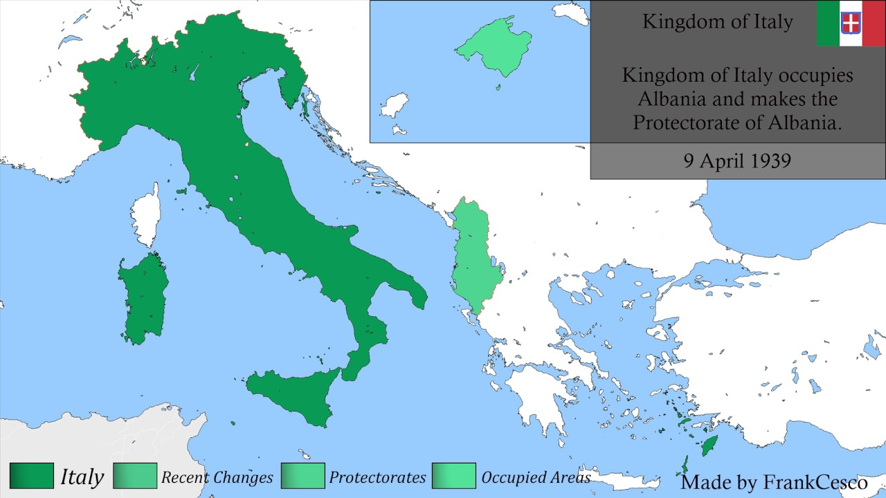 History of ITALY (1859 - 2018) - Detailed Map - YouTube
