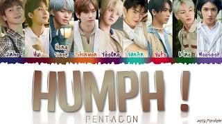 PENTAGON Humph Lyrics MP3