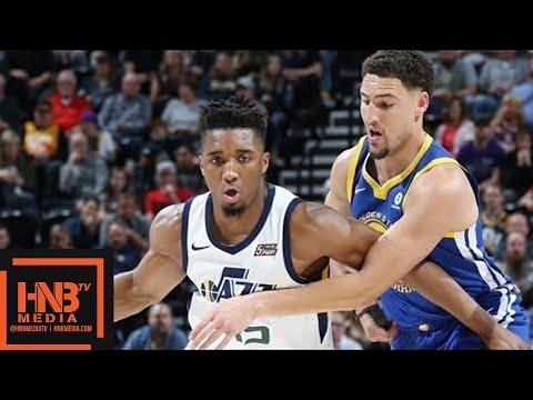Golden State Warriors vs Utah Jazz Full Game Highlights / April 10 / 2017-18 NBA Season