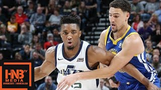 Golden State Warriors vs Utah Jazz Full Game Highlights / April 10 / 2017-18 NBA Season