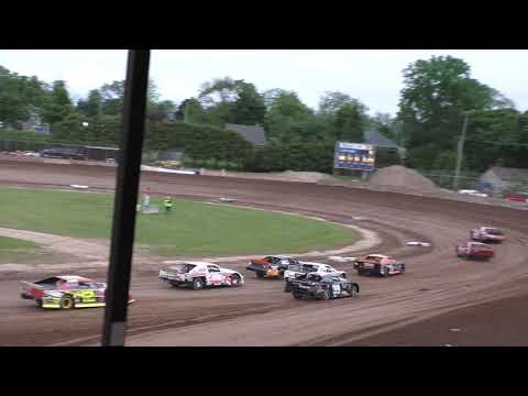 Plymouth Dirt Track Grand National Heats 6-15-2019