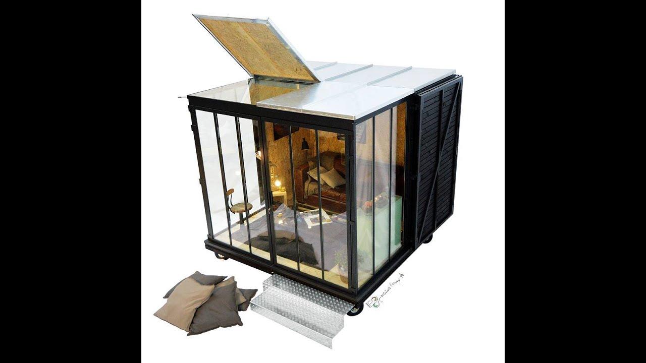 un cube dans mon jardin video de montage blanc en 1h30. Black Bedroom Furniture Sets. Home Design Ideas