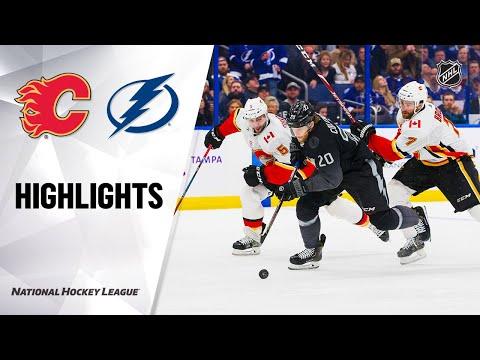 NHL Highlights   Flames @ Lightning 2/29/20