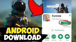 Fortnite *ANDROID* DOWNLOAD IS HERE!!! with Link! (Fortnite Mobile Android)