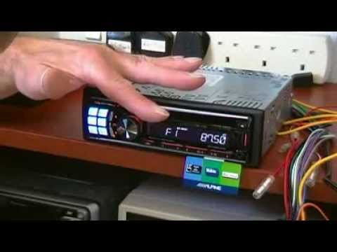 hqdefault review of alpine cde 123r car cd radio with smartphone support alpine cde-103bt wiring harness at cos-gaming.co