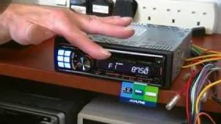 Review of Alpine CDE-123R Car CD/Radio with SmartPhone support