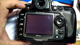 Nikon D700 перестал показывать экран