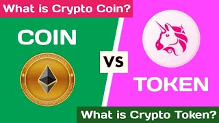 What is the Difference between cryptocurrency coin and token Tamil | What is coin? | coin vs token