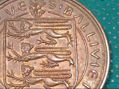 Coin of the Day (#40) - 1st September 2014 - Guernsey 8 Doubles