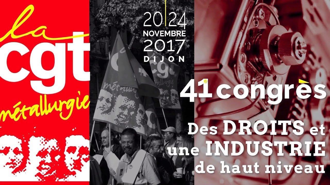 7c4afdaf534 Film d ouverture du 41e congrès de la FTM-CGT - YouTube