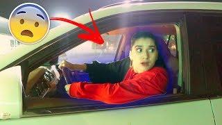 لما البنت تسوق سيارة لاول مرة | ضحك مو طبيعي