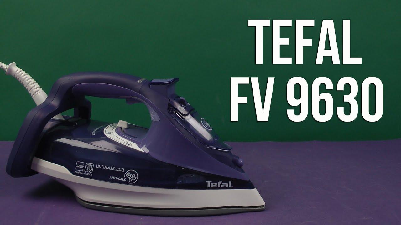 Утюг Tefal FV5525 - мощный утюг с системой авто-отключения - Видео .