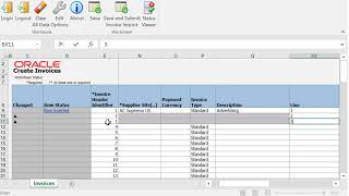 Payables | Create an Invoice in a Spreadsheet video thumbnail