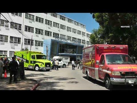 Seven killed in suspected gang attack at Guatemala hospital
