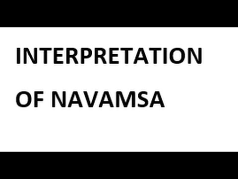 Marriage and Relationships through the Navamsa Chart - YouTube