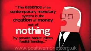 Introduction to Positive Money in less than 3 minutes...
