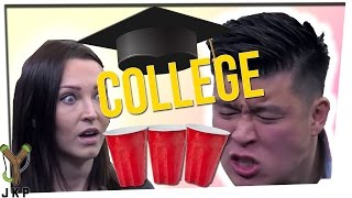 Two Truths One Lie: College Edition Ft. Gina Darling