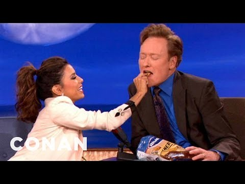 Eva Longoria's Search For The Next Great Potato Chip Flavor  CONAN on TBS