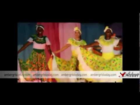 Belize National Dance Company European Performance presented in San Pedro Belize