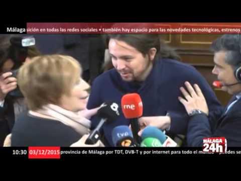 Bronca en el Congreso entre Pablo Iglesias y Celia Villalobos