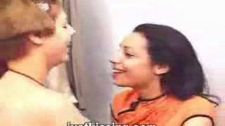 Latina Babes Kissing