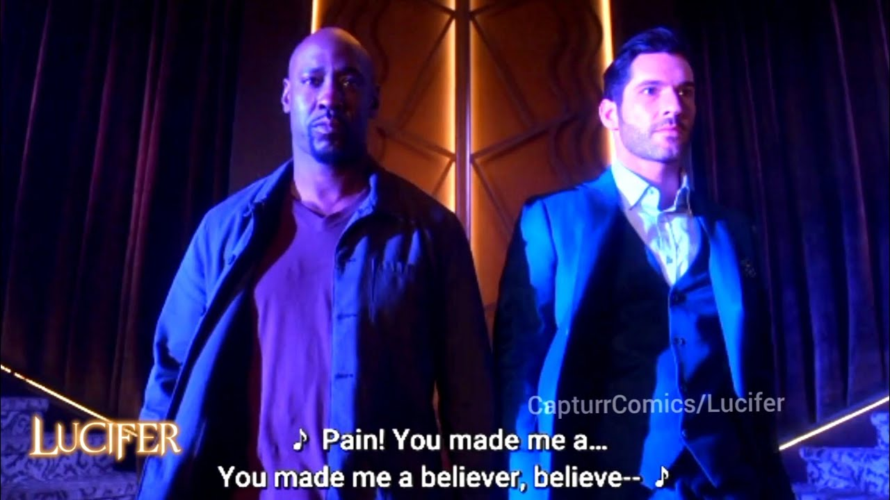 Download Lucifer X 'Believer' Song ♫   Season 05 Episode 11 Opening Scene [with Subtitles]