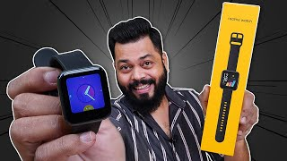realme Watch Unboxing & First Impressions-