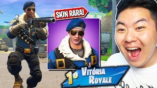 I WON ONE OF FORTNITE'S RAREST SKINS!! C'est SERIOUS! --Fortnite Battle Royale