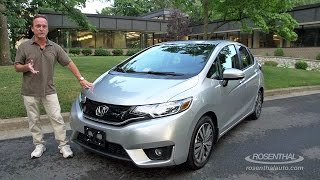 2015 Honda Fit Hatchback Test Drive & Review