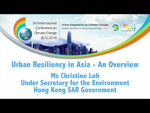 Overview of Increasing Urban Resiliency to Climate Change in Asia
