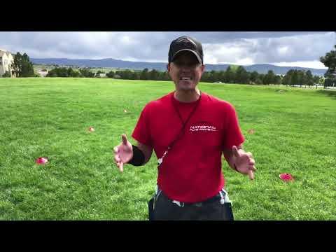 Flag Football Drill - Shuffle Pull - Flag Pulling And Shuffling Drill