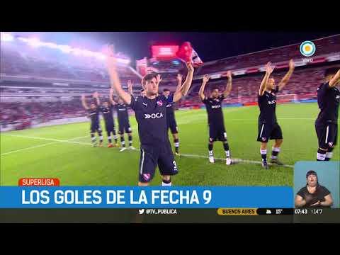 Superliga: Goles de la fecha 9