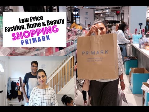 Affordable Price Clothes, Home & Beauty Shopping In UK || Primark Haul #PrimarkHaul #ShoppingInUK