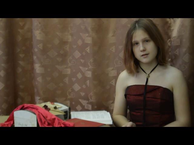 Изображение предпросмотра прочтения – КаринаДовгаль читает произведение «Мне нравится, что Вы больны не мной...» М.И.Цветаевой