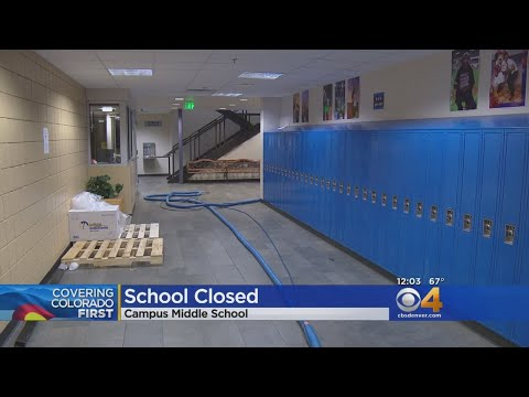 Campus Middle School Closed Due To Flooding, Sewer Backup