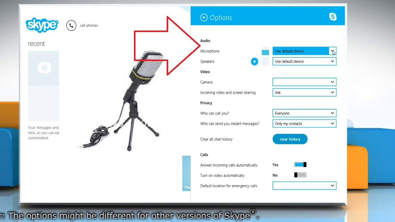 Adjust Skype® Sound Settings for Speaker and Microphone on Skype ...