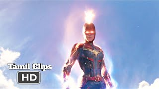 Captain Marvel (2019) - Finale Battle Scene Tamil [14/15] | Movieclips Tamil