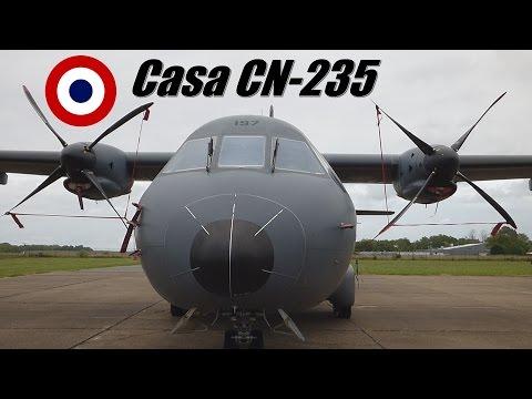 Avión Casa CN -235 Ejercito Frances.  Full-HD