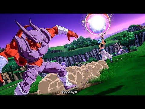 GOGETA BLUE KILLS JANEMBA DRAMATIC FINISH! DRAGON BALL FighterZ DLC Gogeta All Abilities & Forms