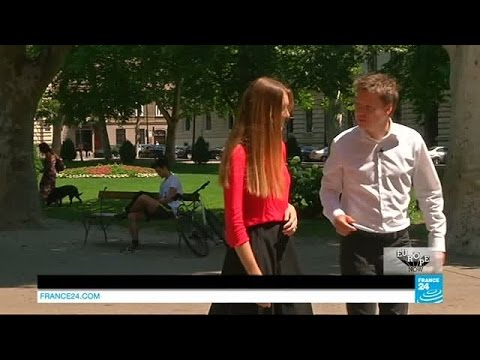 Europe Now: young lawyer Karla Ressler meets Croatian MEP Davor Skrlec