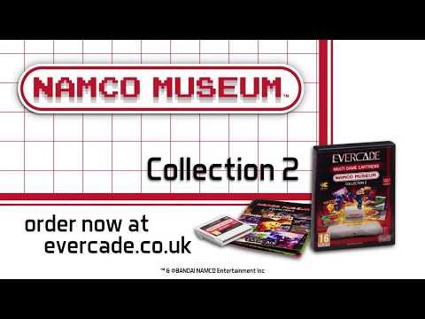 Evercade Namco Collection 2 Cartridge Trailer