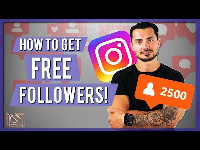 How to Get More Instagram Followers for FREE | Gain Instagram Followers 2019 👤