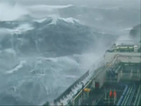 True power of nature Hurricane  Irma UNLEASHED ON SHIPS + FREAKWAVES.