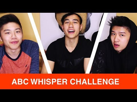 ABCs Play the Chinese Whisper Challenge - ABCs Lip Read Insults In Cantonese and Mandarin