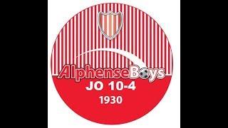 Alphense Boys JO 10-4 tegen AVV Alphen 02-09-2017