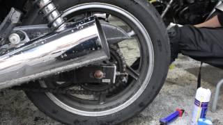 チェーンの洗浄方法と絶対にやってはいけない事:バイク洗車