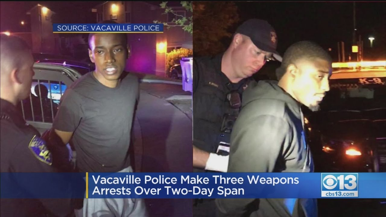 Three Gun-Related Arrests In 2 Days In Vacaville